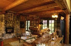 Charming Log Cabin Interior Design Kitchen Images Inspiration ...