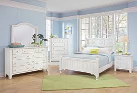 Cottage White Bedroom Sets Fairfield 5pcs Traditional Cottage