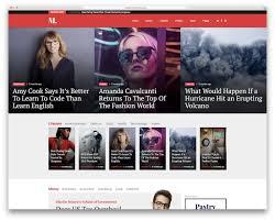School Newspaper Layout Template 34 Best Wordpress Newspaper Themes For News Sites 2019 Colorlib