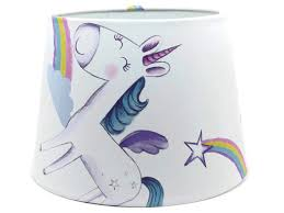Unicorn Lamp Shades Unicorn Ceiling Light Shade Rainbow Stars