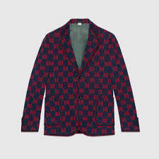 gucci gg jersey formal jacket