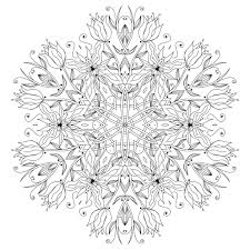 Mandala Fleurs Elegantes Par Epic22 Coloriage Mandalas