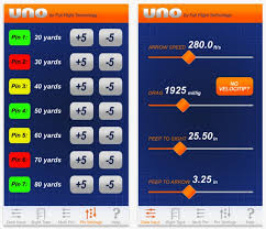 Hha Sight Tape Chart Upgraded Uno Archery App Helps You Sight In Your Bow Quickly