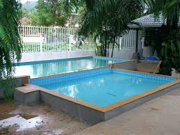 partially above ground pool semi swimming pools partial v19