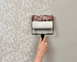 Patterned Paint Rollers By Clare Bosanquet