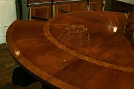 round expandable dining table style