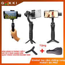 Gimbal chống rung Hukey G6 cho Smartphone, Gopro, Gitup, Sjcam, Eken - Đối  thủ Zhiyun Smooth 4 - BeeCost