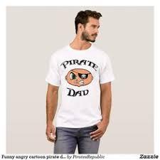 <b>Pirate</b> Grandfather with <b>Funny</b> Cartoon and Sword T-<b>Shirt</b> | Zazzle.com