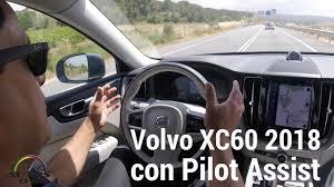 2018 volvo pilot assist. simple pilot test drive volvo xc60 2018 con pilot assist en barcelona espaa in volvo pilot assist youtube