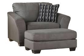 gray oversized chair. Wonderful Gray Osborn Oversized Microfiber Chair From GardnerWhite Furniture To Gray O
