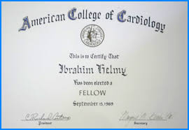 dr ibrahim helmyfellow american college of cardiology cardiologist resume