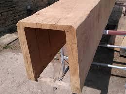 oak beams to clad rsj39s oak beam uk