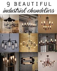 Superb Chandeliers4 And Industrial Home Decor Ideas Design Ideas