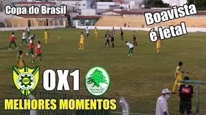 COPA DO BRASIL: Boavista-RJ vence o Picos-PI no Helvídio Nunes - Futebol  Interior