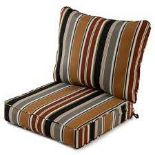brown rust outdoor cushions patio