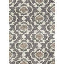 cozy moroccan trellis indoor area rug 10 x14