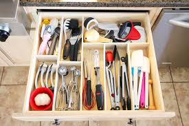 Make your own DIY Custom Wood Kitchen Utensil Drawer Organizer! Super easy  and so cheap