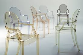 philippe starck louis ghost chair. louis ghost chair with arms by philippe starck for kartell