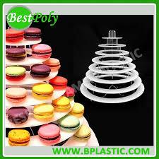 French Macaron Display Stand Beauteous High Quality 32 Tiers Acrylic Macaron StandMacaron Tower Buy