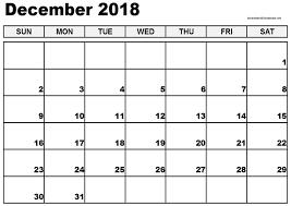Luxury 35 Design Free Printable December 2018 Calendar