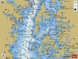 Chesapeake Bay Eastern Bay And South River Marine Chart