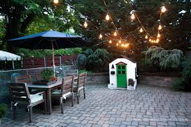 backyard string lighting. monday july 20 2015 i have been pinning and pining for outdoor string lights backyard lighting r