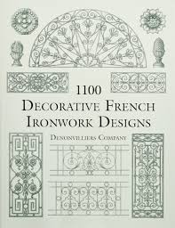 2286 Traditional Stencil Designs Pdf 1100 Decorative French Ironwork Designs Dover Pictorial