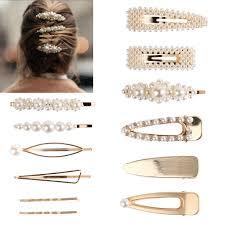 Korean <b>Metal Temperament</b> Hairpins <b>Women Fashion</b> Accessories ...