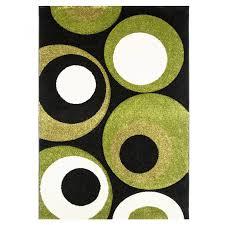 lime green area rug black lime green area rug havana
