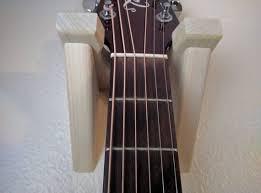 classical guitar wall hanger wooden