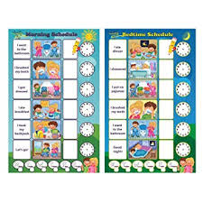 Magnetic Board Chore Chart Magnetic Chore Chart For Kids Dry Erase Board Responsibility Chore Chart A Board For Morning Schedule And A Board For Bedtime Schedule Smart