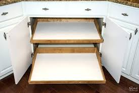 slide out shelves tutorial the patch building pull installed in cabinet diy for pantry closet slide out