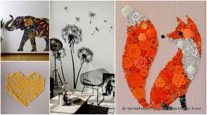 Small Picture 34 Amazing Wall Art Ideas You Can Do Yourself To Bring A Blank