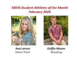 Ava Larson and Griffin Moore Honored as February Student-Athletes of the  Month – Marquette Athletics