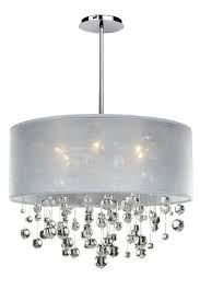 um size of drum chandelier crystal modern lights shades clip on with glass diy shade