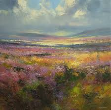 rex preston 1948 abstract landscape painter
