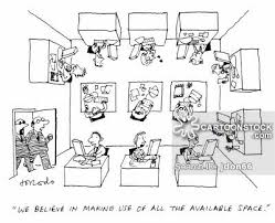 cramped office space. Crowded Cartoons And Comics Cramped Office Space E