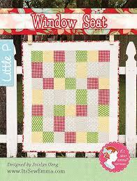 Window Seat Quilt Pattern It's Sew Emma Little P #ISE-511 | It's ... & Window Seat Quilt Pattern It's Sew Emma Little P #ISE-511 Adamdwight.com