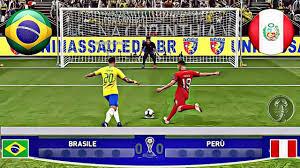 Brasile 🆅🆂 Perù • Final Copa América (Calci di Rigore) • PES 2019 Patch  [Giù] - YouTube