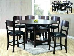 lazy susan top dining table with round for turntable glass