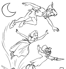 Small Picture Peter Pan Coloring Pages Learn To Coloring