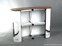 pop up desk pop up reception desk hawk tension fabric exhibition stand pop up  reception desk .