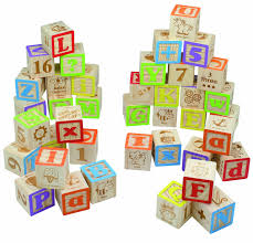 maxim deluxe wooden abc blocks extra large