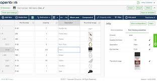 Openbom Part Catalogs And Bill Of Material Example – Openbom – Medium