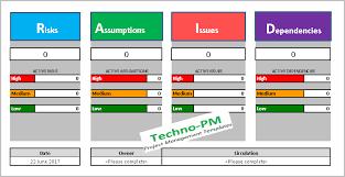Raid Log Benefits Of Maintaining A Raid Tracker Project