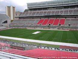 Ohio Stadium Seating Chart With Rows Ohio Stadium View From Section 18a Vivid Seats