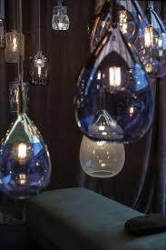 Hand blown lighting Blue Glass Glass Ebb And Flow Pendant The Home Depot Mesmerizing World Of Handblown Glass Lamps