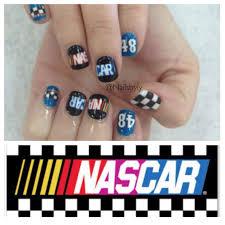 Nascar Nail Art Designs Nascar Nail Art Nascar Nails Racing Nails Nails