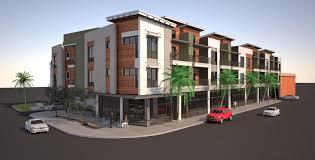 apartment building design. Back Storey Apartment Building Design B