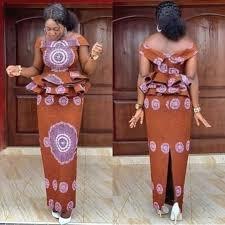 Beautiful african print ankara skirt and blouse styles for ladies. in 2020  | Ankara skirt and blouse, African fashion skirts, Ankara skirt